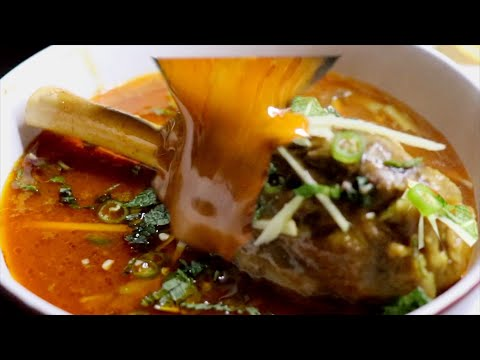 Nihari Recipe By Spicy || Mutton Nihari || Lamb Shanks Nihari Recipe Detailed