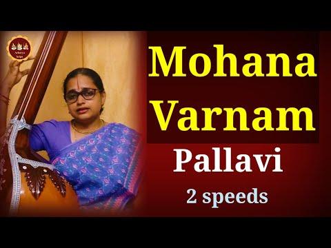 Carnatic Varnam:Ninnu kori:Mohana ragam:part 1  how to sing Carnatic Music
