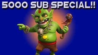 Klaus Gaming |  Clash of Clans  |  5000 Subscriber Special!