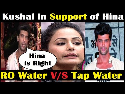 Kushal Supported Hina on RO Controversy   Celeb In Hina's Support   Bigboss 11