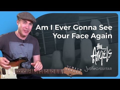 How to play Am I Ever Gonna See Your Face Again by The Angels - Guitar Lesson Tutorial Aussie SB-502