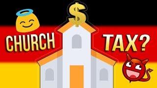 Germanys Church Tax ⛪💲💲💲 Do ALL Germans PAY For Their Sins?
