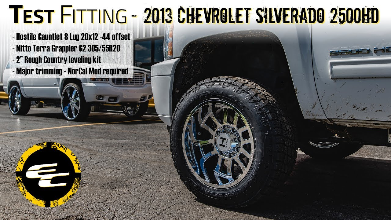 All Chevy chevy 2500hd wheels : Test Fitting - Leveled 2013 Chevy Silverado 2500HD NorCal Mod w ...