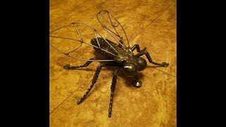 муха Цеце (мерзость из металлолома)Tsetse fly