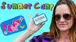 Summer Camp - Making a My Little Pony Pinkie Pie Craft with Altoids Containers! Learn with DCTC
