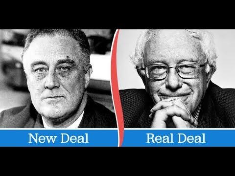 Bernie Proposes Job Guarantee