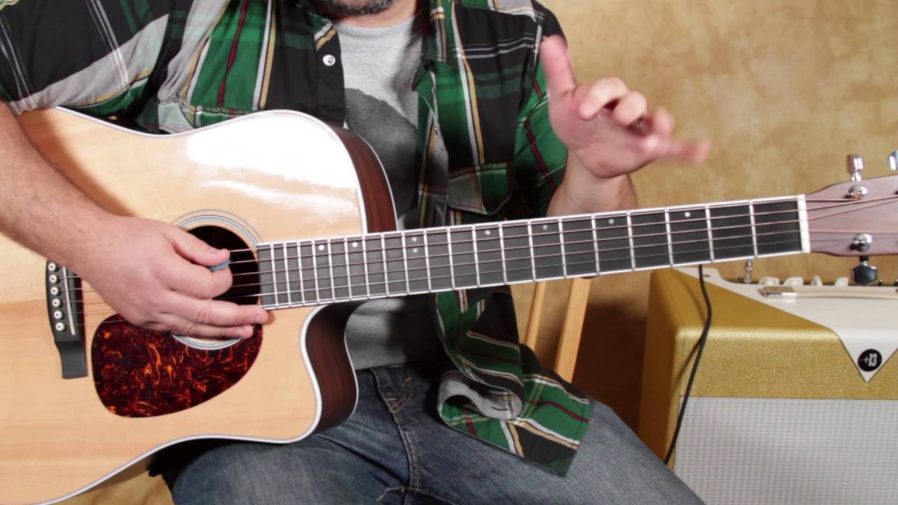 How To Play Black Water The Doobie Brothers Acoustic Guitar