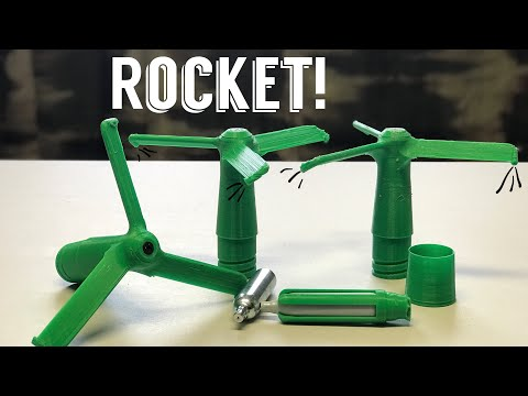 🚀CO2 Powered... Propeller? Rocket?
