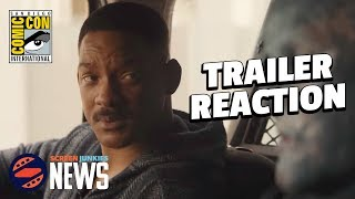 Suicide Squad Director Finally Makes Movie He Wants (Bright Trailer Reaction) - SDCC 2017