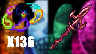 Terraria Supreme Buffed SPEED Scarlet Devil vs Calamity Mod Death Mode Boss Rush