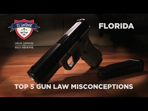 Top 5 Gun Law Misconceptions FLORIDA