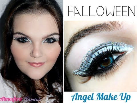 Halloween Maquiagem Anjo (Angel Makeup). - YouTube