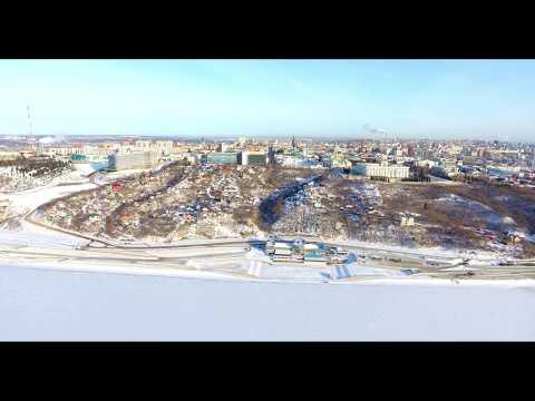 Береговая зона реки Белая г.Уфа