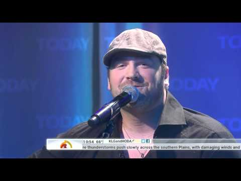 Lee Brice - A Woman Like You (Live On Today 03-20-2012) [HD 1080p]