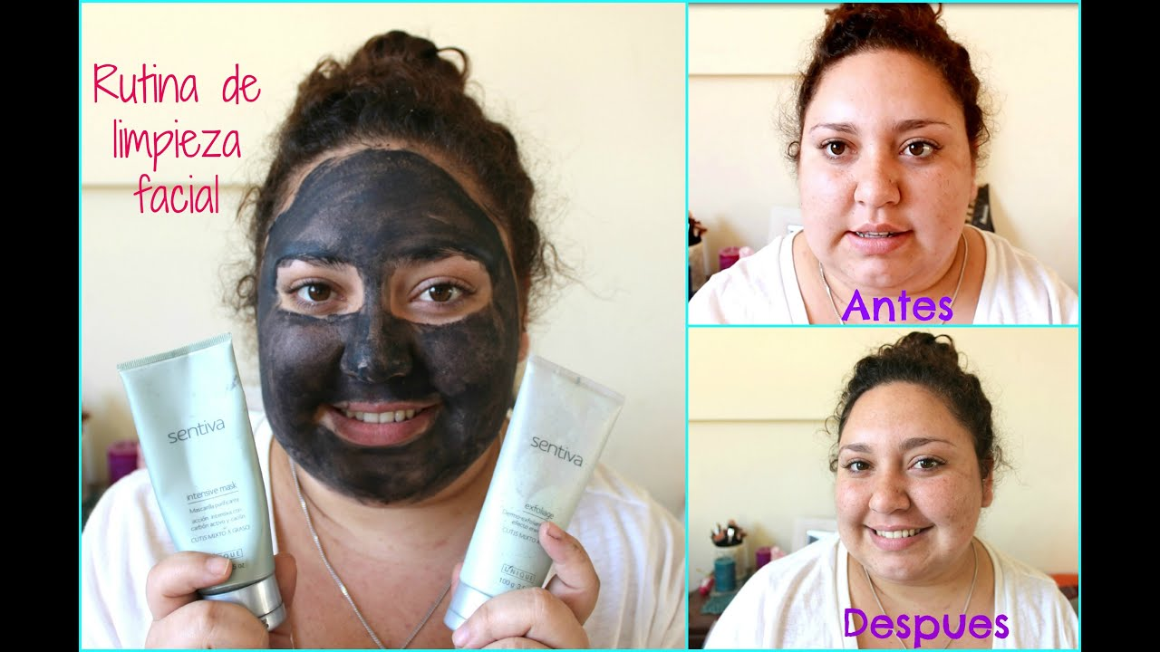 Rutina De Exfoliante Y Mascarilla Antes Y Despues Youtube