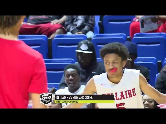 Bellaire vs Summer Creek Basketball