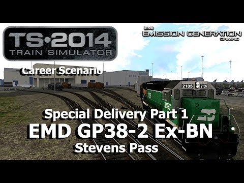 Special Delivery Part 1 - Career Scenario - Train Simulator 2014