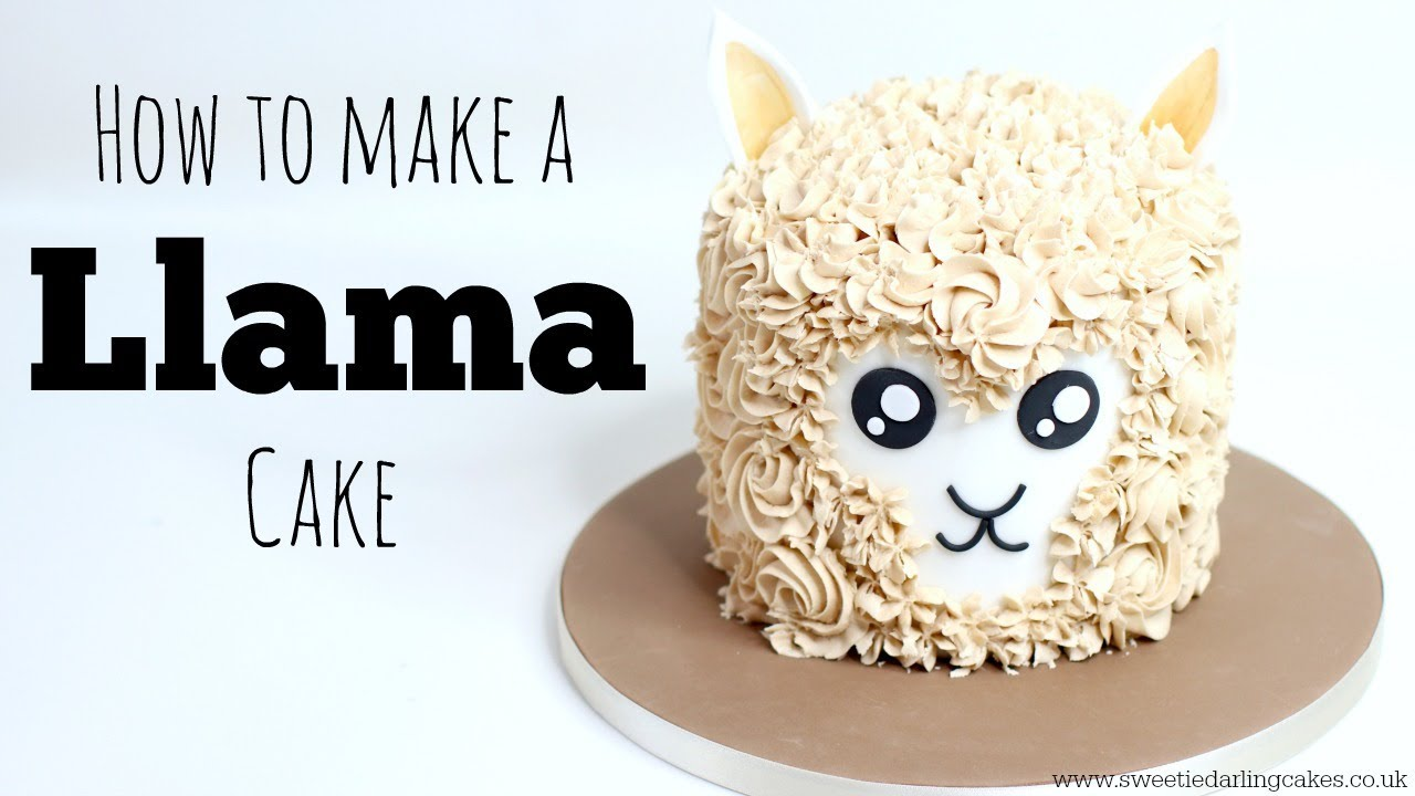 How to make a Llama Cake