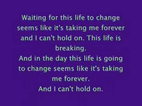 The Red Jumpsuit Apparatus Waiting with Lyrics