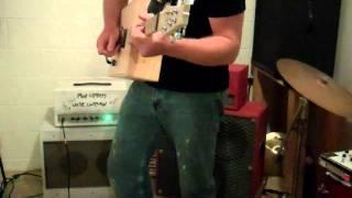 Wine Box Guitar.