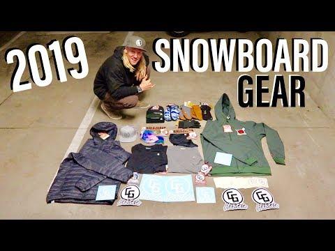 BEST SNOWBOARD GEAR Of 2018-2019 (ESSENTIALS)