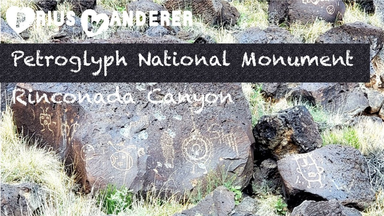 Prius Wanderer Petroglyph National Monument Rinconada Canyon NM
