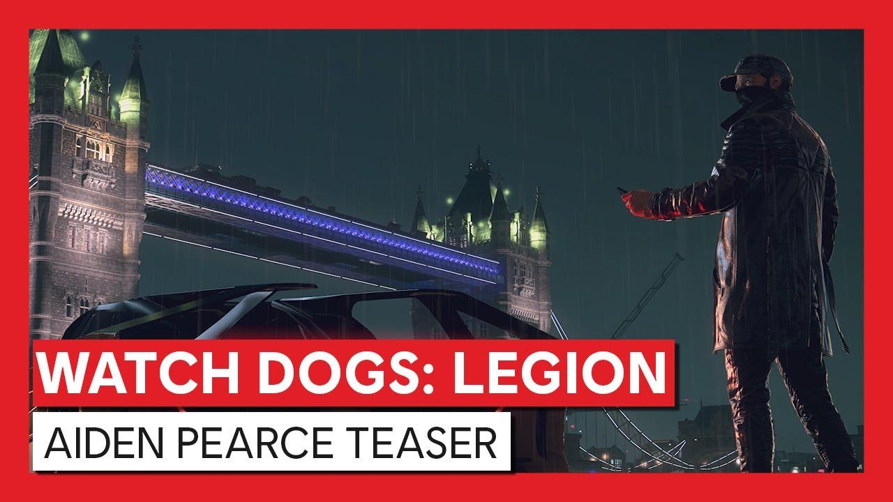 Watch Dogs : Legion - Aiden Pearce Teaser  | Ubisoft