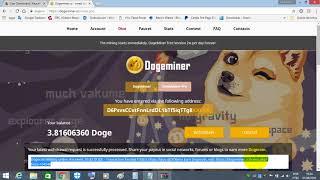 DogeMiner mais uma  Prova de Pagamento