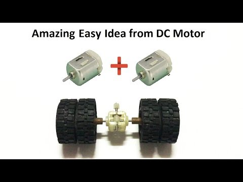 RC Homemade How to make RC Heavy Truck Axle from DC motor at home Amazing RC Axle