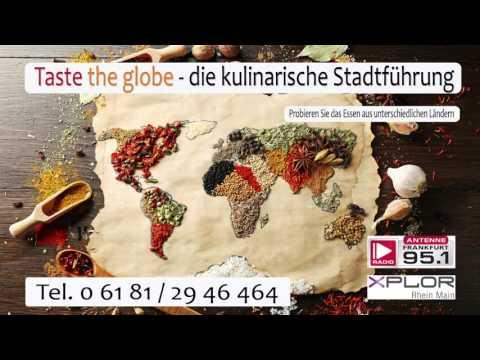 Taste the Globe - Die kulinarische Stadtführung - im Interview bei Antenne Frankfurt