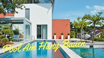 Pool Am Hang Bauen