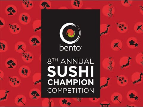 Bento Sushi Champion Competition 2019