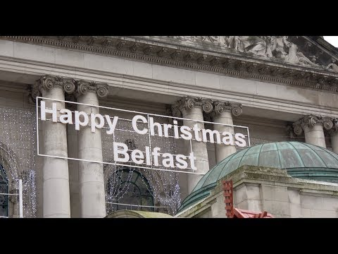 Belfast City Centre 2016 Filmed in 4K with Sony FDR-AX53