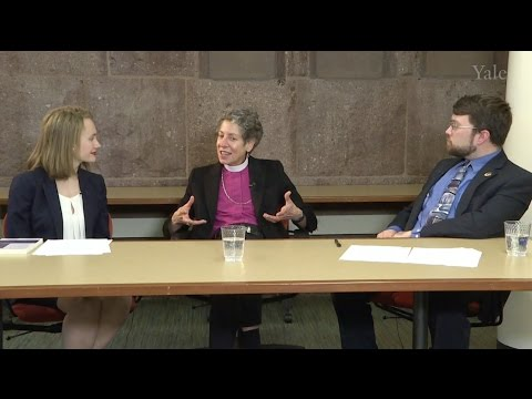 """A Communion of Subjects: Law, Environment, and Religion"" with Katharine Jefferts Schori"