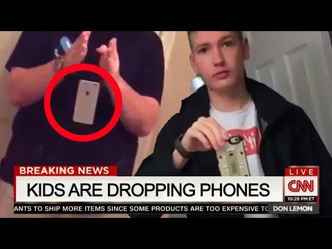KIDS DROP THEIR PHONES , THE REASON WHY , WILL SHOCK U!