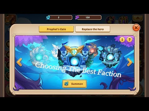 Idle Heroes: How To Choose The Best Faction At The Prophet Tree
