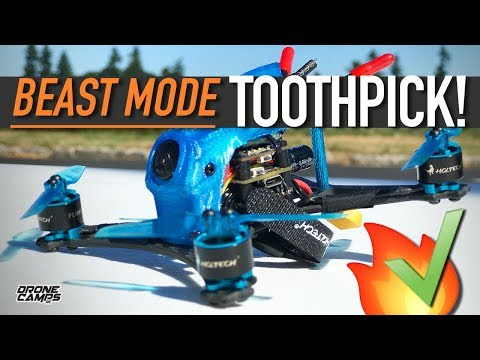 BEAST MODE TOOTHPICK! - HGLRC PARROT 120 PRO - REVIEW