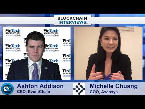 Blockchain Interviews – Michelle Chuang, COO of Asensys