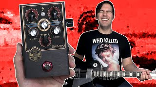 Beautifully Messed Up! | Beetronics SWARM Fuzz Harmonizer Demo & Review | Stompbox Saturday