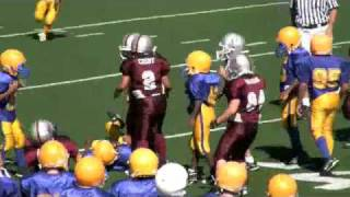 Big Hit from 8-year old Nose Tackle