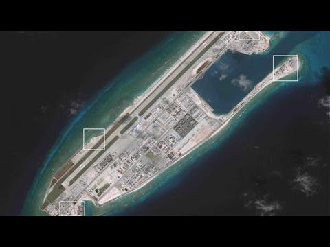 Satellites Show Chinese Weapons in South China Sea