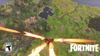 *NEW* SKYDIVING TRAILS EFFECT (Fortnite Season 3 Battle Pass)