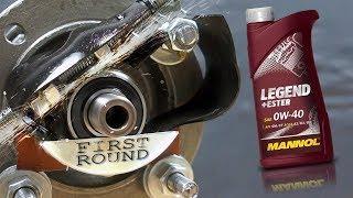 Mannol Legend+Ester 0W40 Jak skutecznie olej chroni silnik?