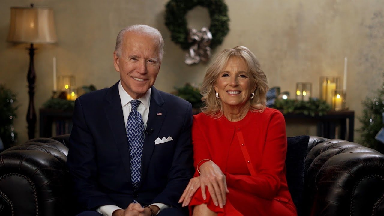 A Holiday Message From The Bidens