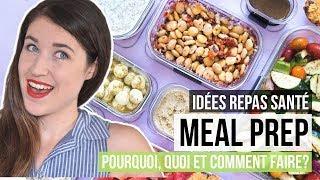 Idées lunchs santé sans fuites | MEILLEUR MEAL PREP VÉGÉTARIEN AVEC RUBBERMAID + DÉJEUNERS  & SNACKS