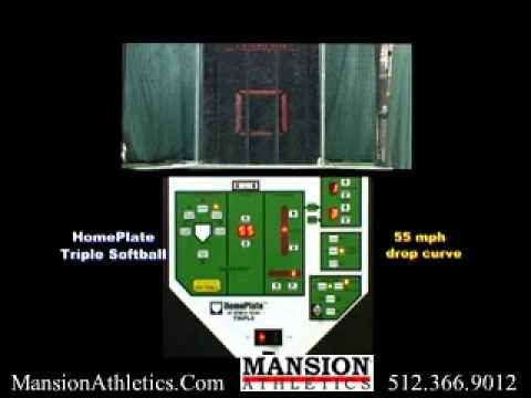 "HomePlate ""Fast Pitch"" Softball Machine - Mansion Athletics"