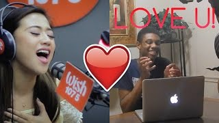 "Morissette covers ""Secret Love Song"" (Little Mix) LIVE on Wish 107.5 Bus REACTION!"