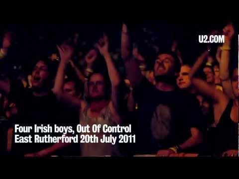U2News - Four Irish boys, Out Of Control, New Jersey