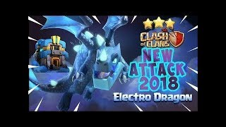 ELECTRO DRAGONS ATTACK STRATEGY!! EASY 3 STARS!! RAGING ALL THE WAY!!