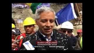 García Linera: inspección de Chile al Silala hubiese sido un gran fiasco